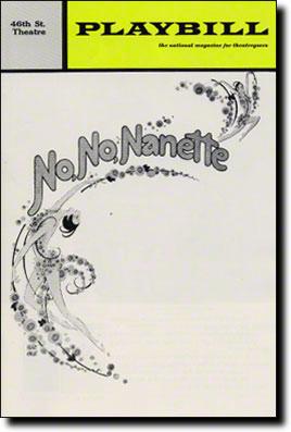 no-no-nanette-playbill