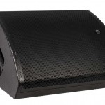 pair of em acoustics m-c15 stage monitor with case